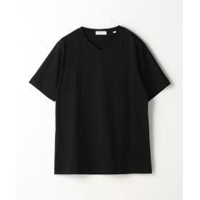 (TOMORROWLAND MENS/トゥモローランド メンズ)スヴィンジャージー VネックTシャツ/メンズ 19ブラック
