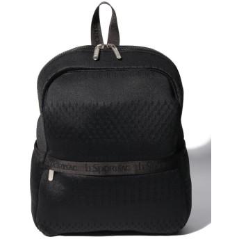 (LeSportsac/レスポートサック)FINLEY BACKPACK メッシュアップ ブラック/レディース ブラック系
