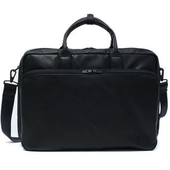 (PORTER/ポーター)吉田カバン ポーター タイムブラック PORTER TIME BLACK 吉田かばん 3WAYブリーフケース B4 本革 メンズ 146-16100/ユニセックス ブラック