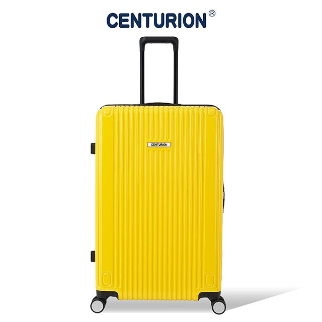 【CENTURION 百夫長】經典拉鍊系列29吋行李箱-ORD芝加哥黃