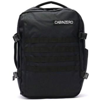 (CABINZERO/キャビンゼロ)【正規品10年保証】キャビンゼロ リュック CABIN ZERO バックパック MILITARY STYLE 36L ミリタリー 機内持ち込み トラベル/ユニセックス ブラック
