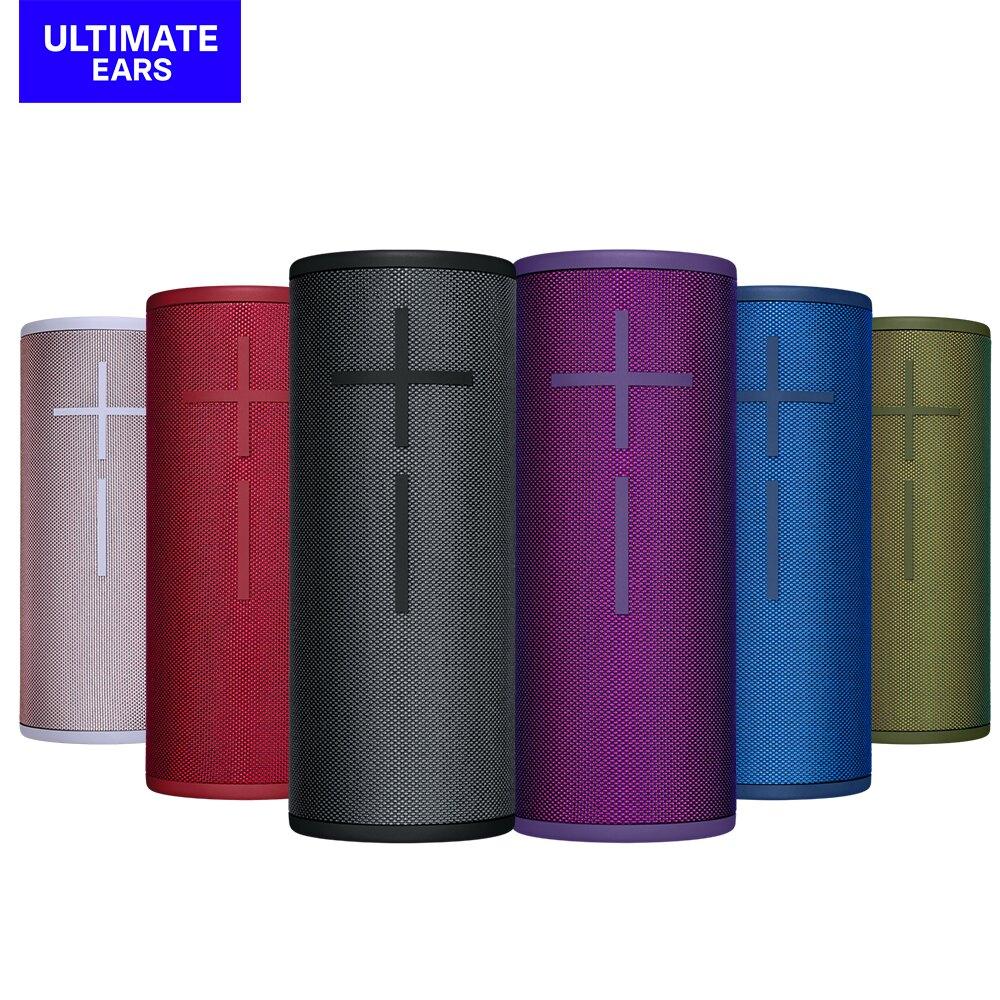 【公司貨】[Ultimate Ears]無線藍牙喇叭-黑/綠/藍/紫/紅/粉 BOOM 3