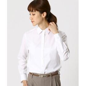 (COMME CA ISM/コムサイズムレディス)ベーシック ホワイトシャツ/レディース ホワイト
