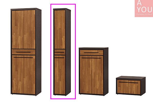 黑格比1x6.5尺雙面鞋櫃(大台北地區免運費)【阿玉的家2020】
