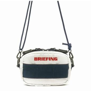 (BRIEFING/ブリーフィング)【日本正規品】ブリーフィング ショルダーバッグ BRIEFING ポーチ ゴルフ 3WAY POUCH GOLF RIP ウエストポーチ BRG191A31/ユニセックス ホワイト