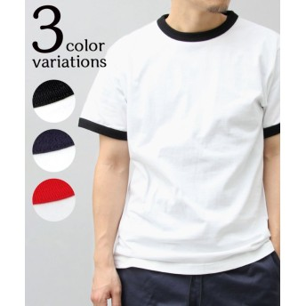 (AMS SELECT/エーエムエスセレクト)【UnitedAthle/ユナイテッドアスレ】5.6オンスバインダーネックリンガーTシャツ/トリムTシャツ/ユニセックス ホワイト
