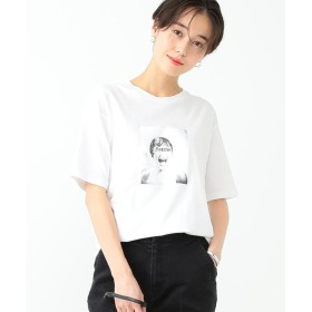 (BEAMS OUTLET/ビームス アウトレット)am / MARION Tシャツ/レディース WHITE