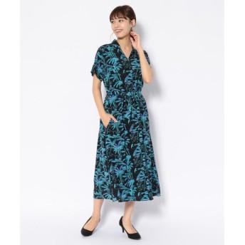 "【RAWLIFE】Aloha Blossom/アロハ ブロッサム/""PALM TREE"" ONE PIECE"