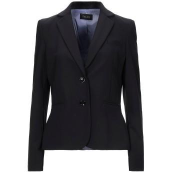《セール開催中》TRY ME レディース テーラードジャケット ブラック 44 ポリエステル 95% / ポリウレタン 5%
