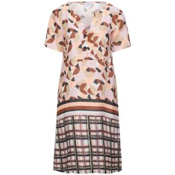 《セール開催中》LFDL レディース ミニワンピース&ドレス ピンク XS リネン 100%