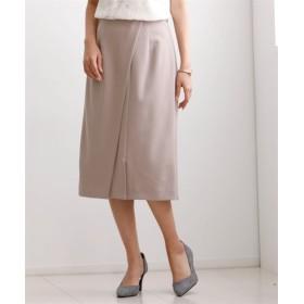 ジョーゼットタイトスカート【ENNEA】 (大きいサイズレディース)スカート, plus size skirts, 裙子
