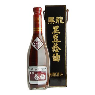 【黑龍】 特級黑豆蔭油清 6罐組