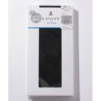 (LANVIN en Bleu(ladies socks)/ランバンオンブルーレディスソックス)タイツ(40D)/レディース ソワレ