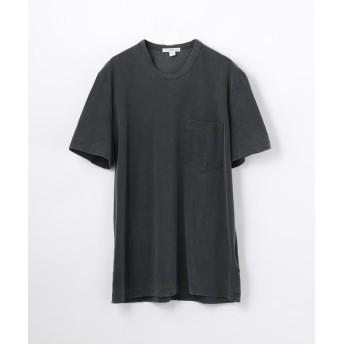 (JAMES PERSE/ジェームス パース)コットン ポケット付きTシャツ MSX3349G/メンズ 18チャコールグレー