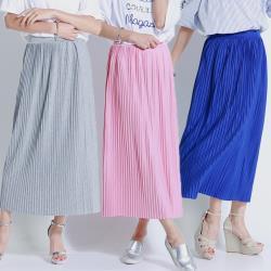 【A1 Darin】氣質修身壓摺棉裙