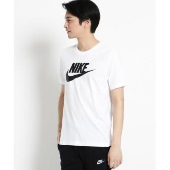 (OPAQUE. CLIP/オペーク ドット クリップ)NIKEロゴTシャツ/メンズ ホワイト(001)