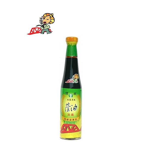 【西螺鎮農會】西農清健頂級蔭油膏(420ml/瓶)