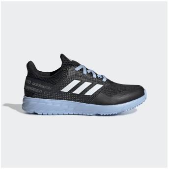 (adidas/アディダス)アディダス/キッズ/アディダスファイト RC FLASH K/ コアブラック/ランニングホワイト/グローブルーF19