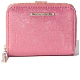 (Pinky & Dianne(BAG)/ピンキーアンドダイアン バッグ)ソリッド財布/レディース ピンク