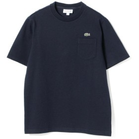 (BEAMS MEN/ビームス メン)LACOSTE / コットン ピケTシャツ/メンズ 166NAVY
