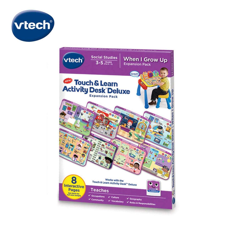 VTech  互動學習點讀桌圖鑑套卡組 我的成長夢想