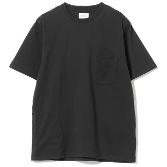 (BEAMS OUTLET/ビームス アウトレット)BEAMS / ヘビー ウエイト ポケット Tシャツ/メンズ BLACK