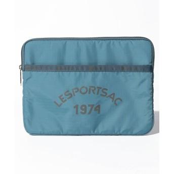 (LeSportsac/レスポートサック)TABLET CASE クールロゴ/レディース ブルー系