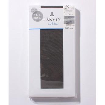 (LANVIN en Bleu(ladies socks)/ランバンオンブルーレディスソックス)タイツ(40D)/レディース アルベール