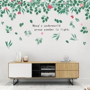 【Loviisa 花紅葉茂】無痕壁貼 壁紙