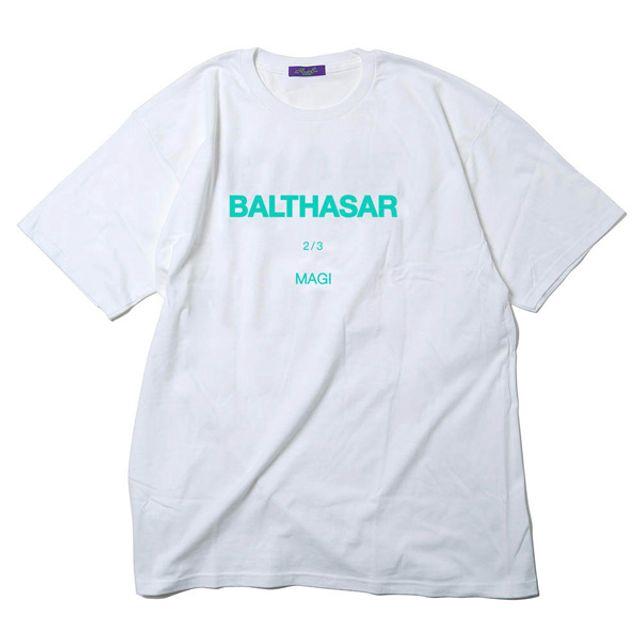 RADIO EVA 494 MAGI SYSTEM BIG T-Shirt/BALTHASAR(白色×藍色)