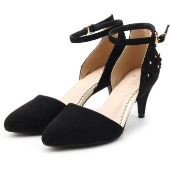 Couture Brooch/クチュールブローチ フラワーセパレートパンプス ブラック(019) 30(23.0cm)