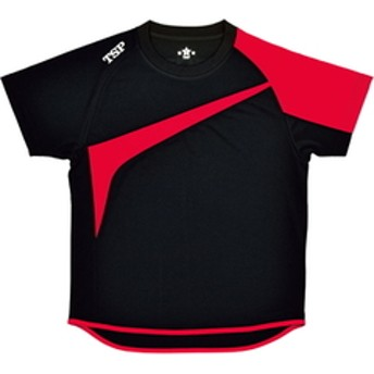 dポイントが貯まる・使える通販  ティーエスピー 男女兼用 卓球用Tシャツ(ブラック×レッド・サイズ:M) TSP TT-180シャツ TSP-033408-0021-M 【返品種別A】 【dショッピング】 グッズ その他 おすすめ価格