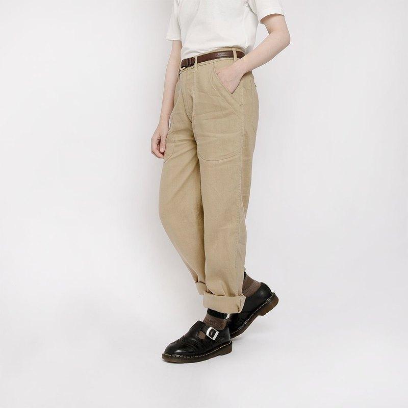 美國海軍棉麻軍褲 /  Vintage 古著
