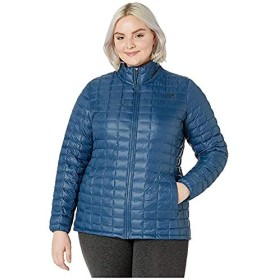 [THE NORTH FACE(ザノースフェイス)] レディースウェア・ジャケット等 Plus Size Thermoball Eco Jacket Blue Wing Teal Matte ウエスト118-128cm [並行輸入品]