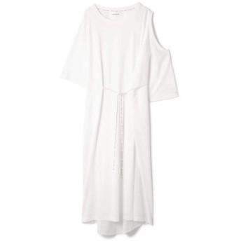 (ROSE BUD/ローズバッド)OPEN SHOULDER DRESS/レディース ホワイト