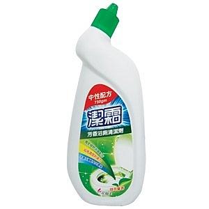 花仙子潔霜芳香浴廁清潔劑(中性配方)-綠茶馨香750gm(12入)/箱【康鄰超市】