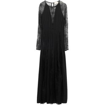 《セール開催中》ANIYE BY レディース ロングワンピース&ドレス ブラック S ポリエステル 100%