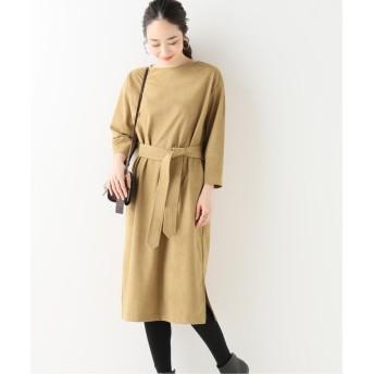 (IENA/イエナ)【TRADITIONAL WETHERWEAR 】 BELT DRESS ワンピース/レディース ベージュ