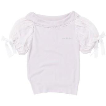 (LODISPOTTO/ロディスポット)Ladyロールカラーニット / mille fille closet/レディース ピンク