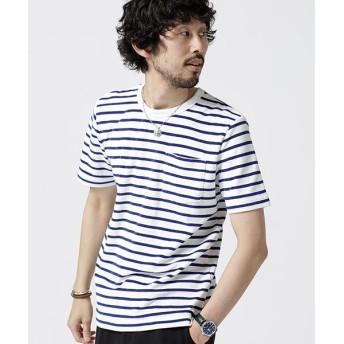 (nano・universe/ナノユニバース)ショートリングパイルTシャツ/メンズ パターン1