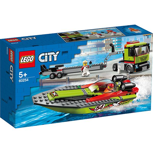 樂高 LEGO 城市系列 LT60254 賽艇運輸車
