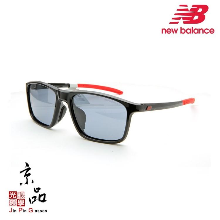 【NEWBALANCE】NB 08082B C01P 黑 紅色 偏光灰 運動休閒 太陽眼鏡 公司貨 JPG 京品眼鏡