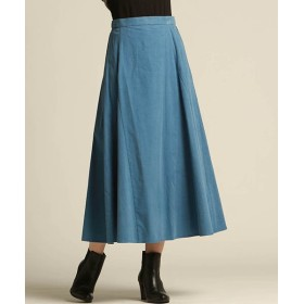 (Droite Lautreamont/ドロワット ロートレアモン)シャツコールスカート/レディース ブルー