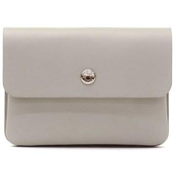 (STANDARD SUPPLY/スタンダードサプライ)スタンダードサプライ カードケース STANDARD SUPPLY PAL パル FLAP CARD CASE/ユニセックス ライトグレー