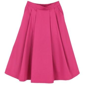 (titivate/ティティベイト)フロントタックフレアスカート/レディース ピンク