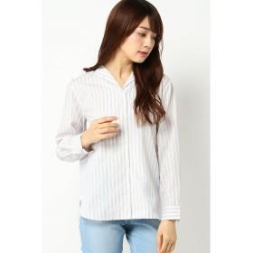 (ikka/イッカ)オープンカラーシャツ/レディース ベージュ