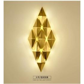 リビングルームの壁ランプテレビ背景壁ランプ雰囲気の寝室のベッドサイドの部屋の照明[大きいサイズ] ウォールランタンウォールスポットライト
