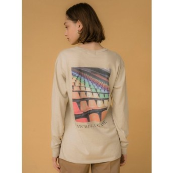 (emmi atelier/エミアトリエ)【emmi atelier】フォトTシャツ/レディース BEG