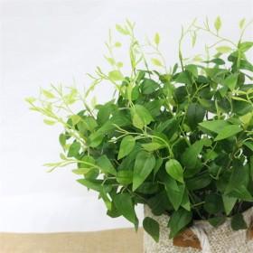 シミュレーション造花のグリーンはフェイクの葉の結婚式の装飾ホーム花のアレンジメントのアクセサリー植物 クリスマスプレゼント フラワーギフト 花 誕生日 贈り物
