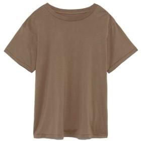 (Mila Owen/ミラオーウェン)バイオボールハイラインクルーTシャツ/レディース MOC